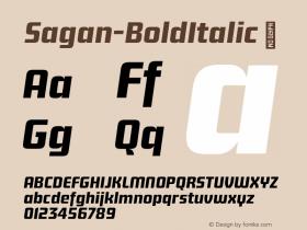 Sagan-BoldItalic