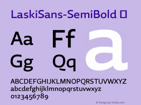 LaskiSans-SemiBold