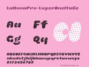 LaMonaPro-LayerOneItalic