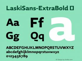 LaskiSans-ExtraBold