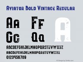 Aviator Bold Vintage
