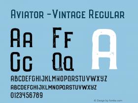 Aviator -Vintage
