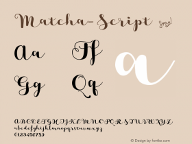 Matcha-Script