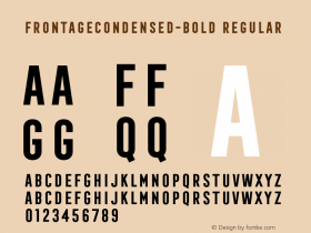 FrontageCondensed-Bold