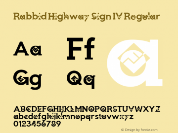 Rabbid Highway Sign IV