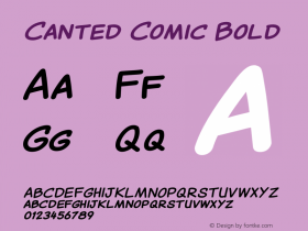 Canted Comic