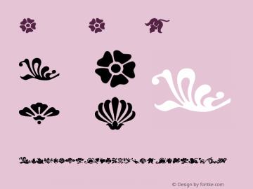 Fleurs Font