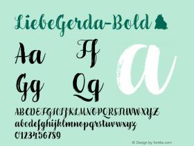 LiebeGerda-Bold