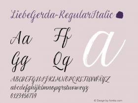 LiebeGerda-RegularItalic