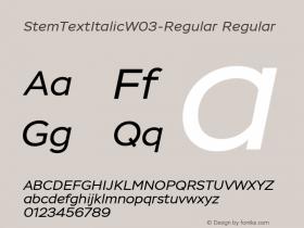 StemTextItalic-Regular
