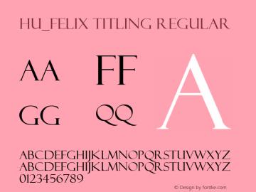 Hu_Felix Titling