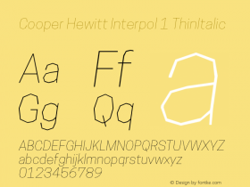 Cooper Hewitt Interpol 1