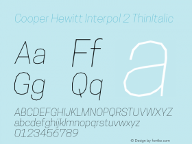 Cooper Hewitt Interpol 2