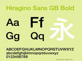 Hiragino Sans GB