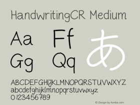 HandwritingCR