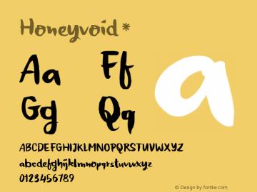 Honeyvoid