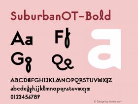 SuburbanOT-Bold