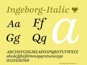 Ingeborg-Italic