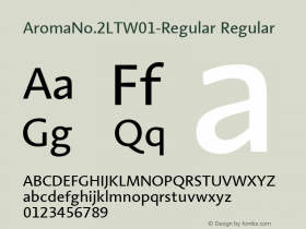 AromaNo.2LT-Regular