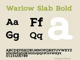 Warlow Slab
