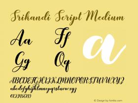 Srikandi Script