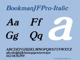 BookmanJFPro-Italic