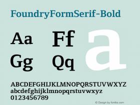 FoundryFormSerif-Bold