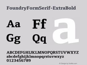 FoundryFormSerif-ExtraBold