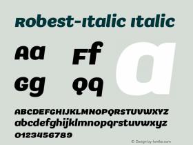 Robest-Italic