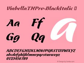ViabellaTHPro-BlackItalic