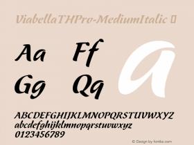 ViabellaTHPro-MediumItalic