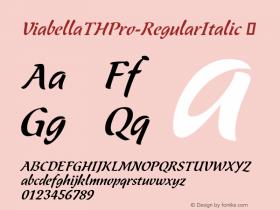 ViabellaTHPro-RegularItalic