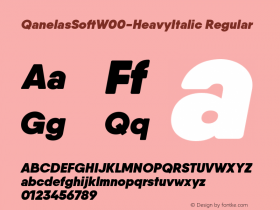 QanelasSoft-HeavyItalic