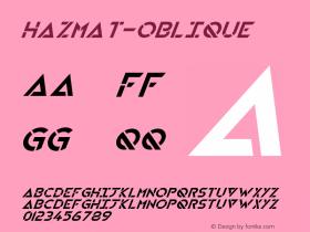 HAZMAT-Oblique