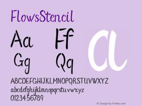 FlowsStencil