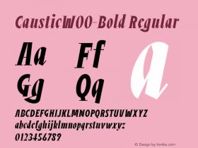 Caustic-Bold