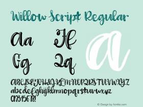 Willow Script