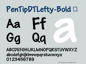 PenTipDTLefty-Bold