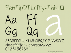 PenTipDTLefty-Thin