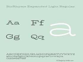 BioRhyme Expanded Light