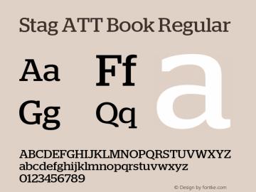 Stag ATT Book