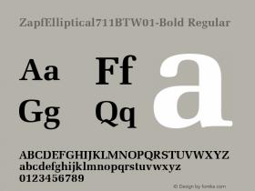 ZapfElliptical711BT-Bold