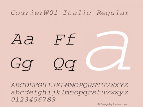 Courier-Italic