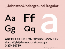 JohnstonUnderground