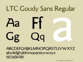 LTC Goudy Sans