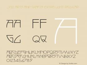 P22 Arts And Crafts Extra Light