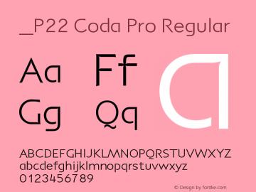 P22 Coda Pro