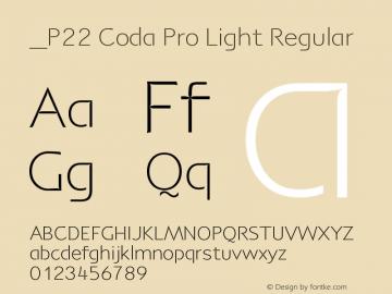 P22 Coda Pro Light