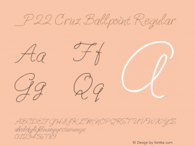 P22 Cruz Ballpoint