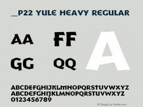 P22 Yule Heavy